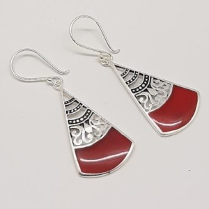 BE005..red  300x300 - EARRINGS